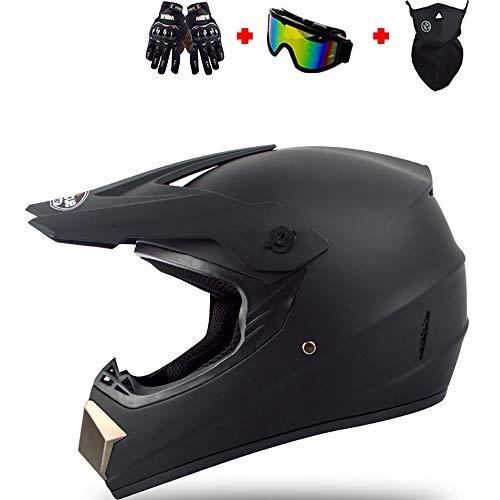 SXC Motocross Helmet Casco MX Moto Casco ATV Scooter Casco Gafas Máscara...
