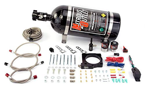 Nitrous Outlet 80mm EFI 5.7 & 6.1 Hemi Plate System (50-200HP) (10lb Bottle)