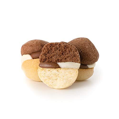 Baci di Dama alla Nutella e Nutella Bianca Artigianali 500g Dolciaria Fiorillo | Biscotti di frolla...