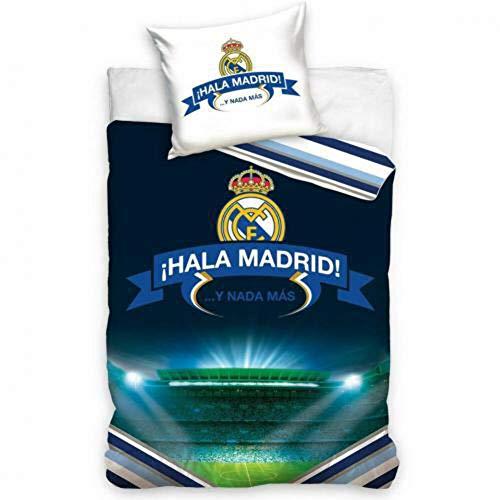 Real Madrid - Funda nórdica individual Hala Madrid