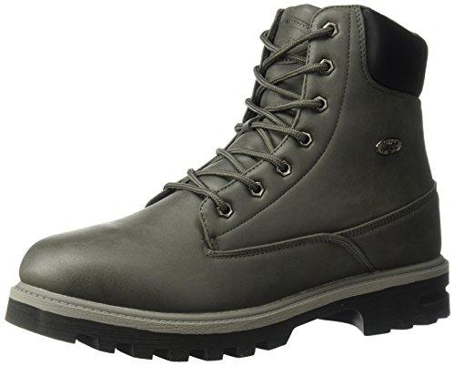 Lugz Men's Empire Hi WR Fashion Boot, Asphalt/Dark Asphalt/Black, 7.5 D US
