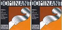 Dominant No.131 ドミナント ヴァイオリン弦 ペルロン/アルミ巻 A線(4/4ミディアム)2本セッ