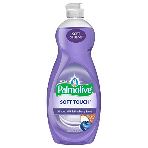Palmolive Ultra Soft Touch Dish Soap, Almond Milk and Blueberry - 32.5 Fluid Ounce