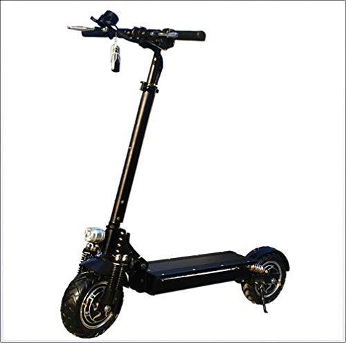 FZ FUTURE Erwachsene E-Scooter, Electric Scooters, Einfach zu Falten und zu tragen Design, Stärkster 2400 Watt Motor 60V, für Erwachsene und Kinder,60kmrange