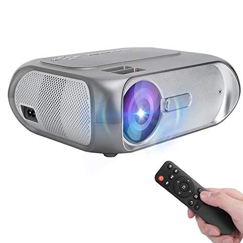 Proyector LCD Mini Smart HD Casa de Casa Portátil Sin TV de pantalla 1280 * 720 100-240V Proyector de espacio popular Proyector Galaxy Proyector