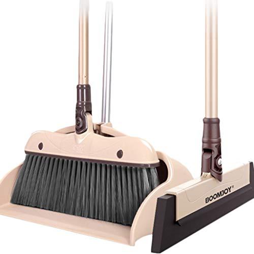 Zshaba Stof Pan En Broom/Stofzuigerzak Reinigt Bezem Combo Huishoudelijke Sweep De Vloer Grote Capaciteit Niet Verkwetsen De Vloer Winddicht En Lekvrij