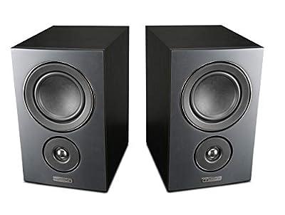 Mission LX-2 Bookshelf Speaker - Black Wood (pair) from Mission