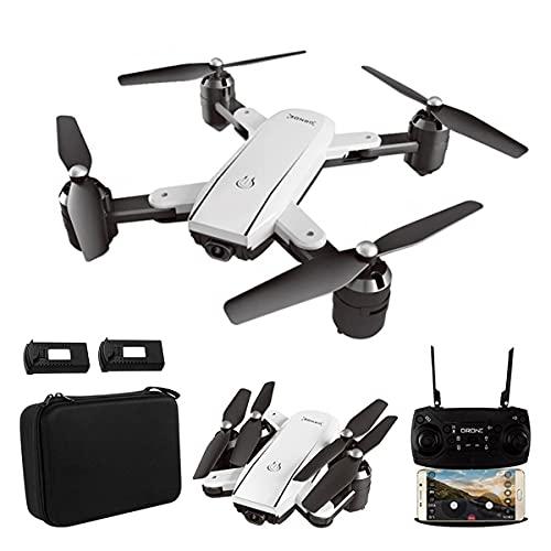 JJDSN ZD5 Drone Pieghevole con Fotocamera per Adulti 4K HD FPV Live Video, Tap Fly, Controllo dei gesti, Selfie, Mantenimento dell'altitudine, modalità Senza Testa, Quadricottero RC per principian
