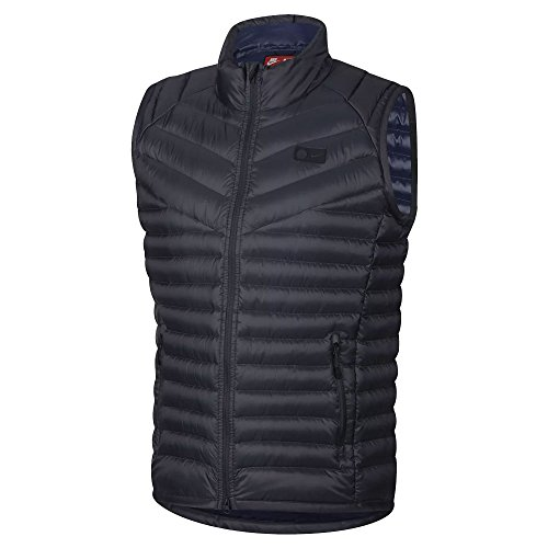 Nike 2018-2019 PSG Authentic Down Vest (Dark Blue)