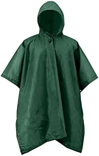 RPS Outdoors 51-114FG Forest Green Adult XT Series Rain Poncho