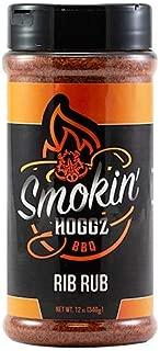 Smokin' Hoggz BBQ Rib Rub - Large 12.0 oz
