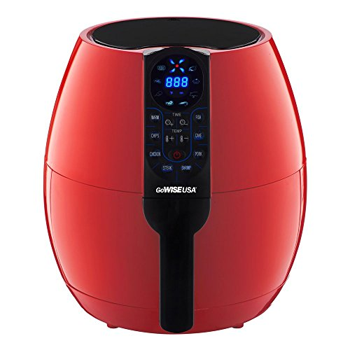 GoWISE USA 37Quart Programmable Air Fryer with 8 Cook Presets GW22639