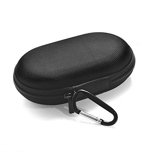 Mouchao Tragbare Lichtspeicher-Lautsprechertasche aus Nylon für den Außenbereich Lautsprecher B & O BeoPlay P2 Schwarz