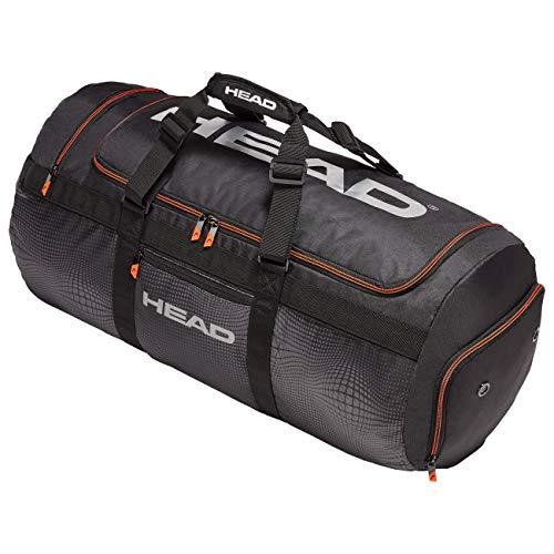 HEAD Unisex– Erwachsene Tour Team Sport Bag Tennistasche, Black/Silver, Einheitsgröße