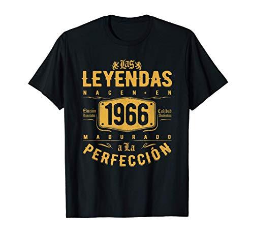 Las Leyendas nacen en 1966 - Regalo de 55 años hombre mujer Camiseta