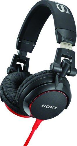 Sony MDR-V55 Cuffie Chiuso DJ, 105 dB, 40 Ω, Bianco