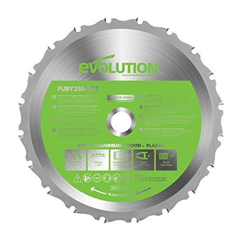 Evolution FURY - Disco multifunción 210 mm