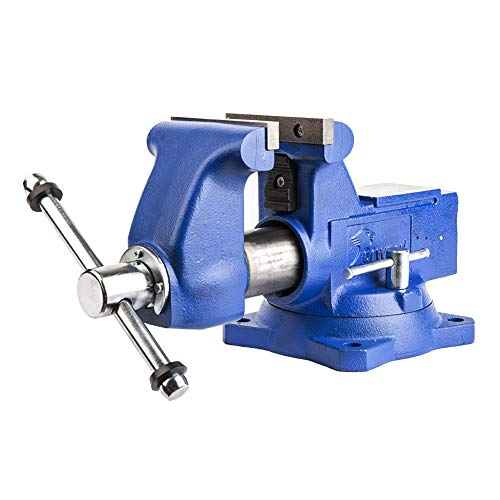 Forward CR60A 6.5-Inch Bench Vise Swivel Base Heavy Duty with Anvil (6...