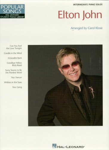 Elton John Songbook: Hal Leonard Student Piano Library Popular Songs Series (English Edition)
