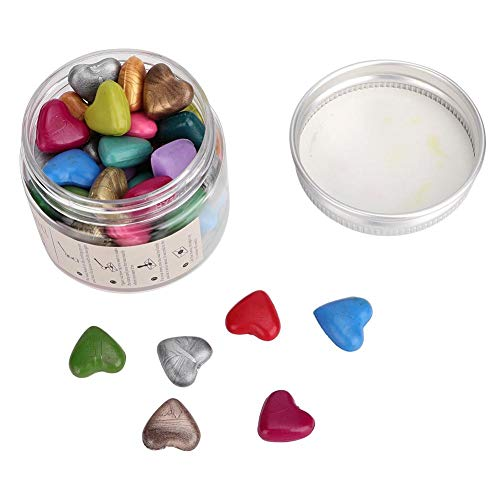 Afdichting Wax Kralen Hartvorm Wax Seal Kralen Gemengde Kleur Verpakt in Plastic Doos voor Wax Sealing Stamp