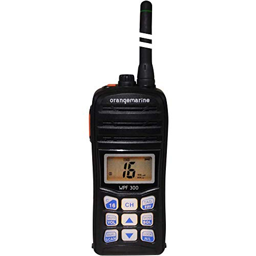 ORANGE MARINE WPF 300 - Radio VHF portátil