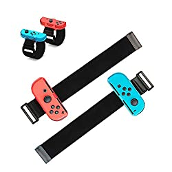 【Unique &Secure Design】: This MOCOLI just dance switch wrist straps is compatible with Nintendo Switch Joy-Cons, used for the most popular game Nintendo Switch Just Dance 2021/2020/2019/2018/2017. Joy con controller can be fixed in the protective spa...