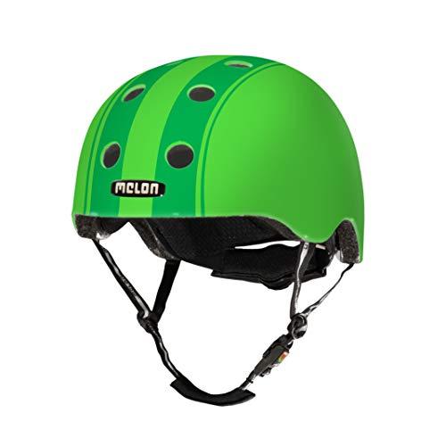 Melon Decent Double Green XXS-S (matowy) kask, jasnozielony/ciemnozielony