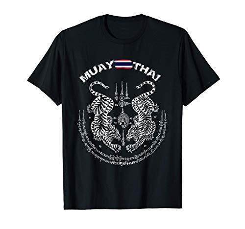 Muay Thai Kickboxing Thailand t shirt Maglietta
