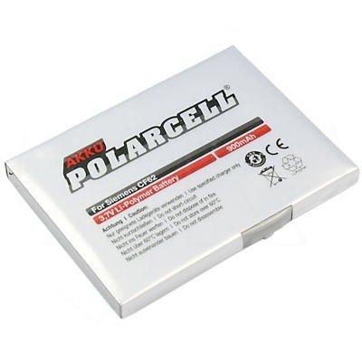 cellePhone Akku Li-Ion kompatibel mit Siemens A31 A58 AX72 C65 C70 CF62 CT65 CV65 CX65 M75 S65 S75 (Ersatz für EBA-660)