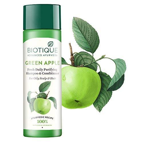 Biotique Bio Green Apple Shampoo and Conditioner