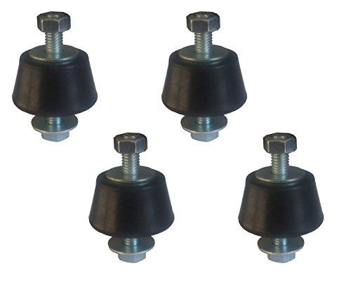4 x Antivibrationsfüße Schwingungsdämpfer Inverter Split Klimaanlage für Wandhalter
