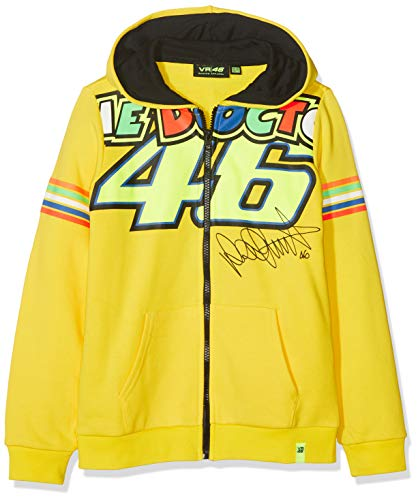 Sudadera amarilla de Valentino Rossi