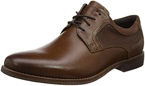 Rockport Herren Style Purpose Perf Plain Toe Derby Schnürhalbschuhe