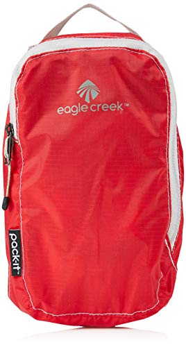 Eagle Creek Packtasche Pack-It Specter Cube Kofferorganizer, 19 cm, 1,2 l, rot/Volcano rot