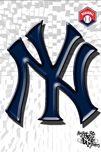 NEW YORK YANKEES: NY Yankee Baseball Souvenirs Gifts - Workout Log Planner Journal Notebook Fitness Diary for Man Women Kids Boys Girls Teens Dad - Blank Small size 6x9 with Calendar 2020