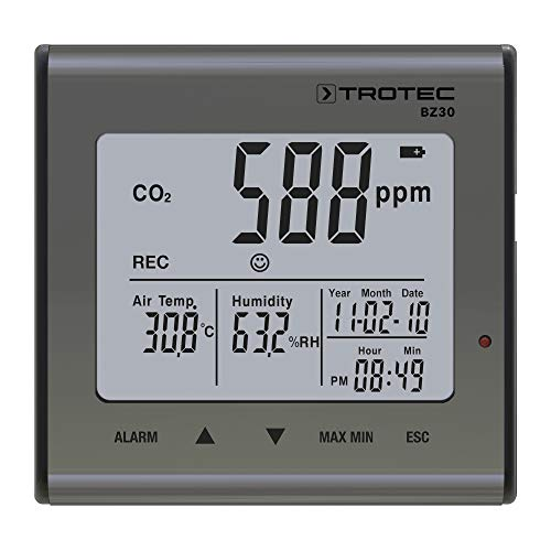 TROTEC BZ30 CO2-Luftqualitätsdatenlogger