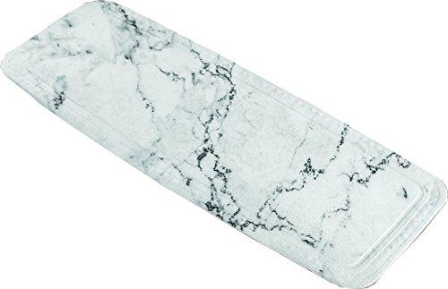 Kleine Wolke Marble, PVC Schaum, Anthrazit, Wanneneinlage