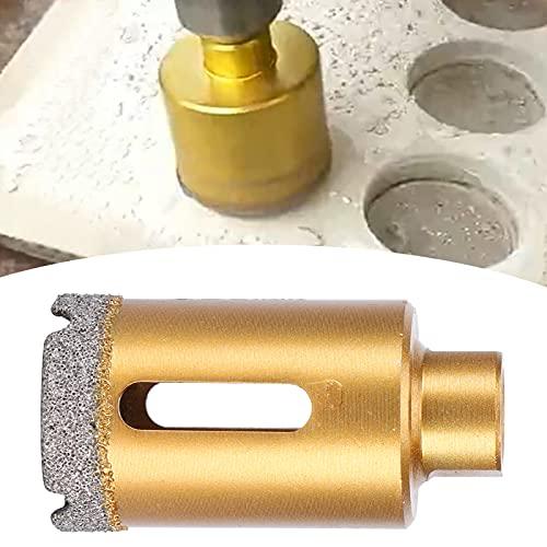 Sierra de corona, broca pequeña con resistencia al corte Broca Abertura ordenada y lisa para perforar paredes de azulejos(30mm)