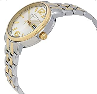 Marc by Marc Jacobs Fergus Women's Silver Dial Stainless Steel Band Watch - MBM3426