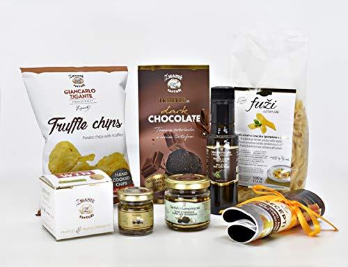 Trüffel Paket aus Kroatien. Beste Trüffelprodukte in edler Geschenksbox