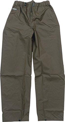 Ocean Rainwear Herren Regenhose Comfort Heavy Segelhose Ölzeug, Farbe:Oliv, Größe:XXL