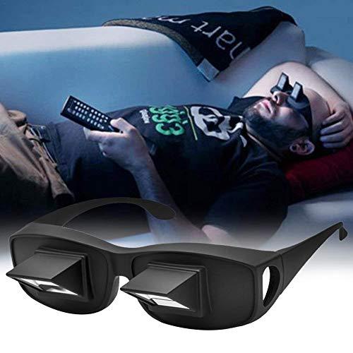 Rainmood Lazy Readers Horizontale Brille Prisma Winkelbrille Brechung-Brille Prismabrille 90 Grad Blick Umlenkende Nacken Entlasten Waagerechter Liegeposition Auf Dem Sofa Oder Im Bett Enjoyable - 2