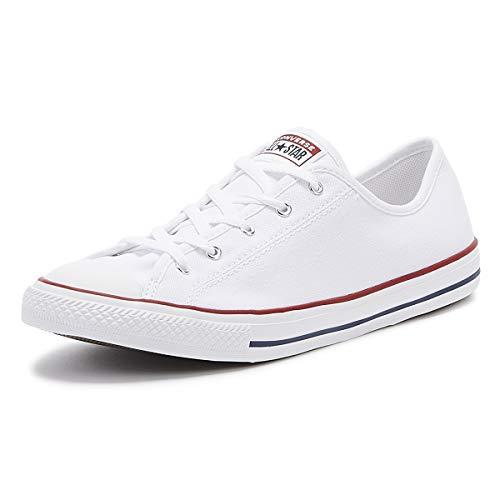 Converse 564981C_38, Zapatillas de Lona Mujer, Blanco, EU
