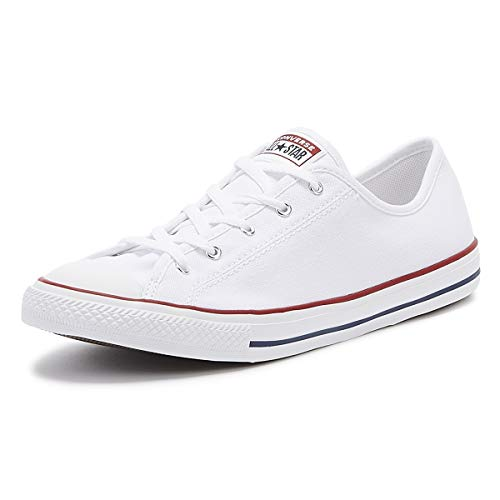 Converse Damen Chuck Taylor All Star Sneaker, White, 42.5 EU