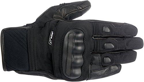 Alpinestars Men's Corozal Drystar Motorcycle Glove, Black, Large