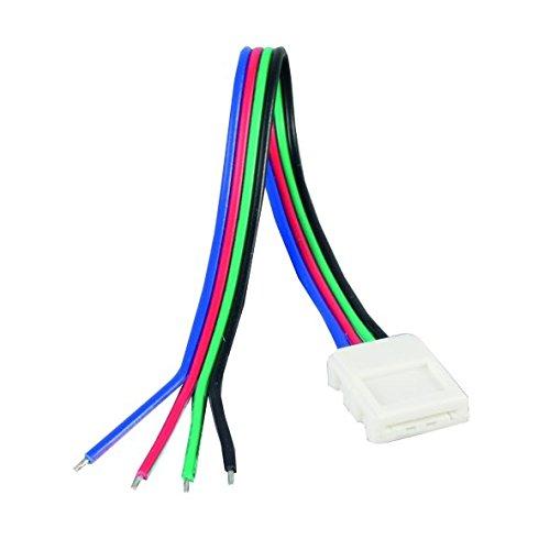 nobilé Zubehör für Flexible LED SMD 5050 RGB Anschlußkabel, 5-erSet NO-5011510065