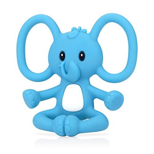 Nuby Yogi Teether speelgoed voor baby's vanaf 3 maanden