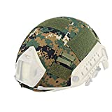 H mundo de compras al aire libre Airsoft Paintball táctico militar Gear combate casco Fast cubierta AOR2