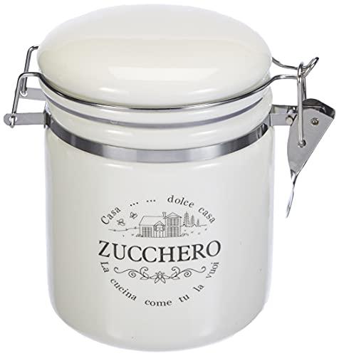 Zuckerdose Dolce Casa, 500 ml., aus Keramik, mit Bügelverschluss von TOGNANA