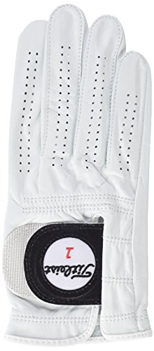 TITLEIST Players Guante, Hombre, Blanco, M